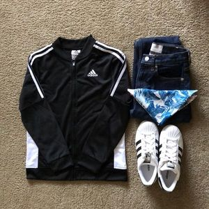 Like New! Adidas Track Jacket (Kids M/Adult XSP)